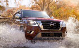 Обновлённый внедорожник Nissan Armada: салон сделали круче, чем у родственного Patrol