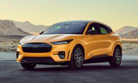 Ford думает о более мощном и быстром Mustang Mach-E