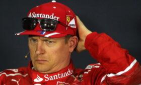Кими Райкконен чуть не погиб во время тренировки на «Формуле-1»
