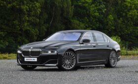 Новая BMW 7 Series 2022