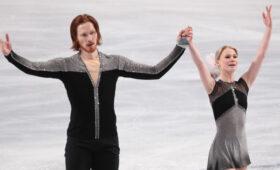 Тарасова и Морозов стали трехкратными чемпионами России по фигурному катанию