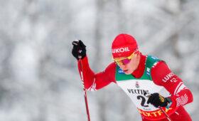 Российские лыжники заняли все призовые места на этапе КМ в Давосе