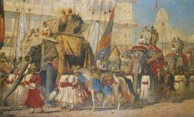 Самую большую картину Верещагина выставили в музее Калькутты после реставрации