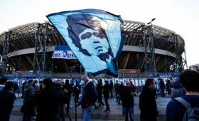 Городские власти Неаполя утвердили решение переименовать стадион в честь Марадоны