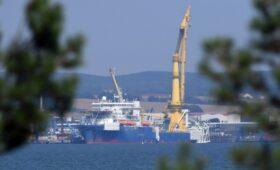 «Академик Черский» отошел от недостроенного участка «Северного потока-2»