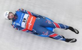 Российский саночник Павличенко стал вторым на этапе Кубка мира в Австрии