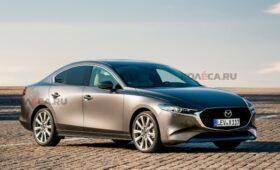 Mazda6 готовится сменить поколение: новое изображение