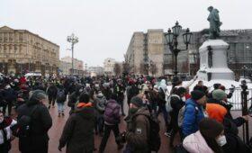СК в день протестов из-за Навального завел дело о призывах к митингам