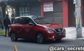 Прежний хэтчбек Nissan Micra с дизайном под модель последнего поколения: новые фото