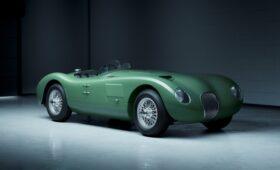 Карбюраторный чемпион: Jaguar возродит выпуск модели C-Type 70-летней давности