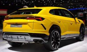 В России объявили массовый отзыв люксовых внедорожников Lamborghini Urus