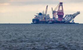 Bloomberg узнал сроки завершения строительства «Северного потока-2»