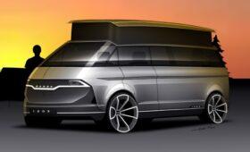 Реинкарнация микроавтобуса Skoda 1203 – будущий «брат» VW ID.7?