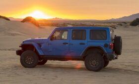 Новую версию внедорожника Jeep Wrangler могут назвать Magneto