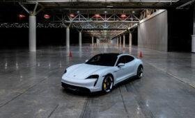 Электрический Porsche Taycan побил рекорд скорости семилетней давности