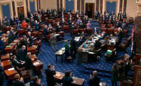 Сенат одобрил план Байдена по спасению экономики на $1,9 трлн