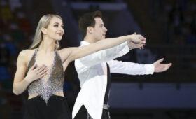 Синицина и Кацалапов выиграли финал Кубка России в танцах на льду