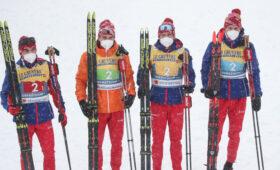 Российские лыжники завоевали серебро в эстафете 4 по 10 километров на чемпионате мира