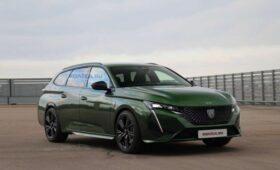 Новый универсал Peugeot 308 2022