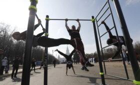 Красноярец побил мировой рекорд по подтягиванию на перекладине