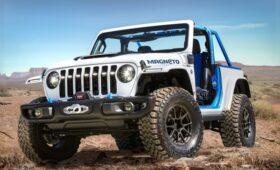 Jeep Wrangler Magneto: вместо V6 – электромотор, но 6-ступенчатая МКП осталась