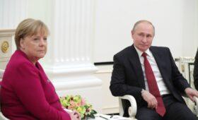 В Берлине рассказали свою версию переговоров Путина и Меркель