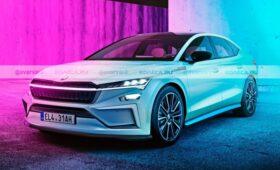 Skoda разрабатывает «батарейный» седан: первое изображение