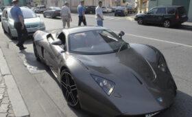 В Новосибирске за долги арестовали суперкар Marussia