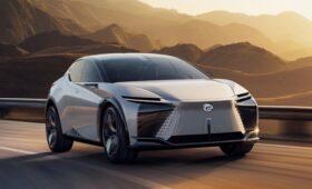 Lexus LF-Z Electrified: руль по проводам и водитель в роли конного всадника