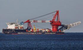 Российское судно возобновило работы по «Северному потоку-2» в водах ФРГ