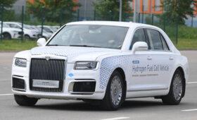 В России создали автомобиль Aurus, работающий на водороде — ПРАЙМ, 31.05.2021