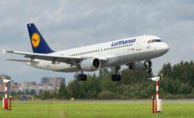 Lufthansa получила разрешение на полеты в Россию в облет Белоруссии