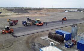 Новая платная трасса М-12: строительство продолжается, уложен первый асфальт