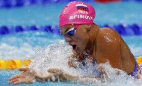 Пловчиха Юлия Ефимова медалью ЧЕ подлила масла в огонь