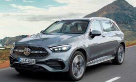 Mercedes-Benz GLC нового поколения появится в 2022 году: новое изображение