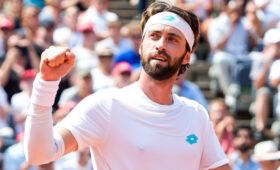 Грузинский теннисист Николоз Басилашвили выиграл теннисный турнир в Мюнхене