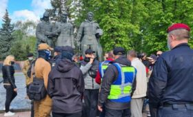 Полиция Украины отчиталась об уголовных делах за советские флаги на 9 мая