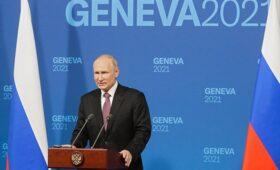Путин оценил проблемы в торговых отношениях с США — ПРАЙМ, 16.06.2021