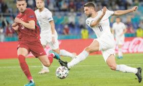 Сборная Италии напугала своей игрой соперников на Евро