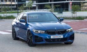 Рестайлинг BMW 3 Series G20 2022