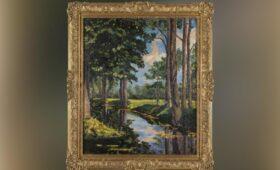 В Нью-Йорке на аукционе продали картину Черчилля за $1,8 миллиона