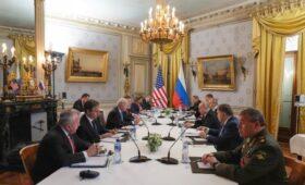 Переговоры Путина и Байдена в расширенном составе. Фото