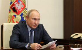Путин присвоил первому заместителю директора ФСБ генерала армии