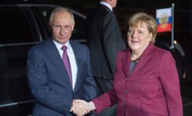 Путин и Меркель обсудили транзит газа и «Северный поток-2» — ПРАЙМ, 21.07.2021