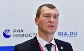Дегтярев подал документы для участия в выборах хабаровского губернатора