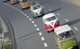 Фестиваль VW Bus летом 2022 года