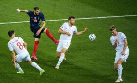 Швейцария победила Францию и вышла в 1/4 финала Евро-2020
