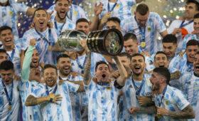 Лионель Месси выиграл Кубок Америки со сборной Аргентины