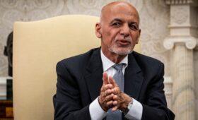 Бежавшего президента Афганистана госпитализировали в Абу-Даби»/>