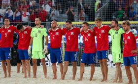 Сборная России по пляжному футболу вышла в финал чемпионата мира